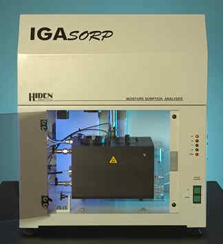 the IGAsorp Dynamic Gravimetric Vapour Sorption analyser