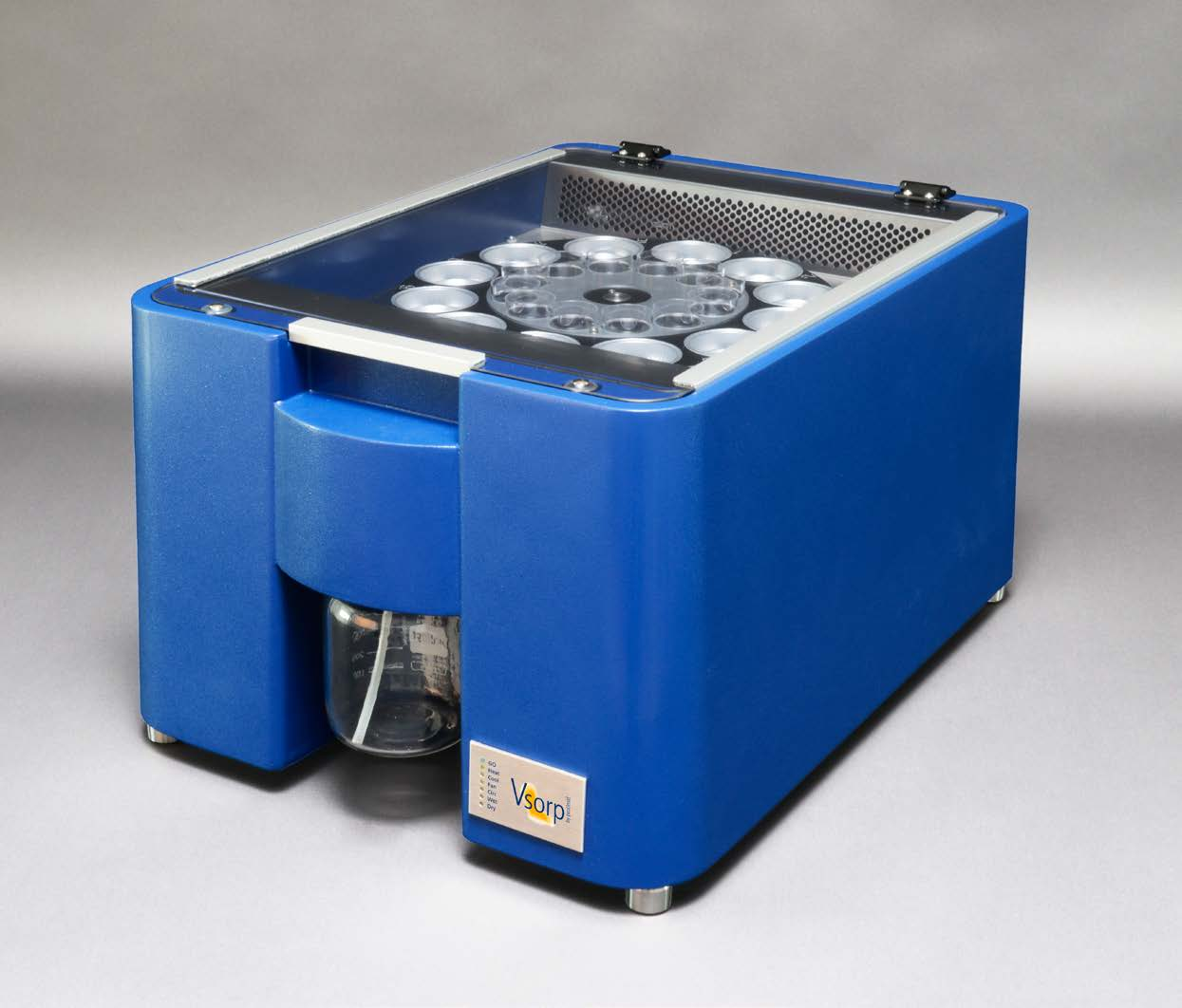 The Vsorp instrument for economical high-throughput DVS measurement.
